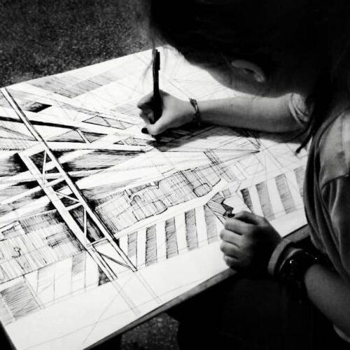 Kurs rysunku na architekturę wWarszawie – jak przygotować się do egzaminów?